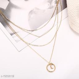 Vembley Moonshine Layered Pendant Necklace