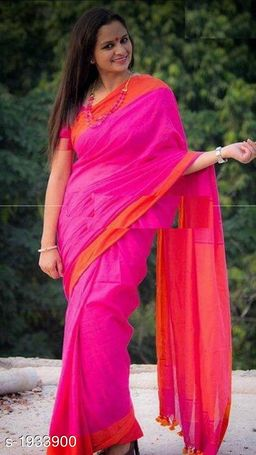 Attractive Khadi Cotton Saree