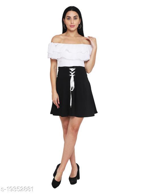 FASHION STREET BLACK OFF SHOULDER DRESS