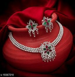 Allure Oxidized Women's Jewellery Set