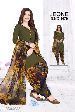 Trendy Collection of Women's Fancy Unstitched Dress Material