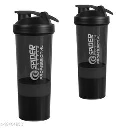 True Indian Combo Pack of Shaker Bottle/Gym Shaker/Shaker Bottle/Protein Shaker Bottle/Gym Bottle/Water Bottle/Protein Carry Bottle/Sipper Bottle/Protein Shaker for Gym