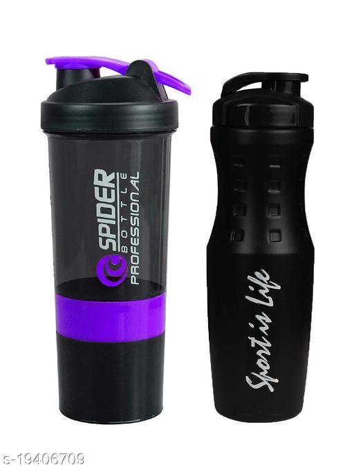True Indian Combo Gym Shaker/Shaker Bottle/Gym Bottle/Protein Shaker/Water Bottle - 500ml