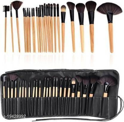 Glam 21 Makeup Brush Set Professional Tool Kit Comestic Brushes (Pack of 24)  (Pack of 24)