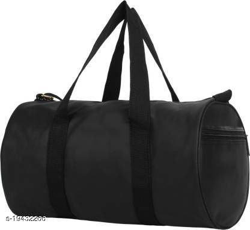 Gym Bag For Mens & Women (BLACK)