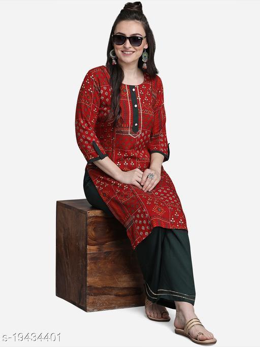 Trendy Alluring Women Kurta Sets