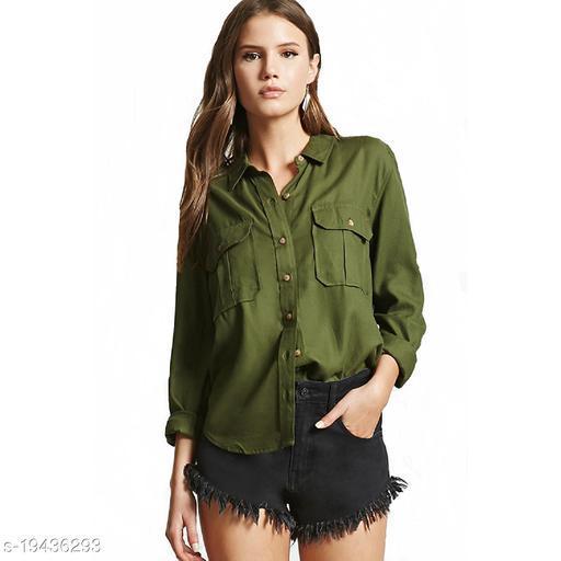 Syolo Women Casual Double pocket Shirt