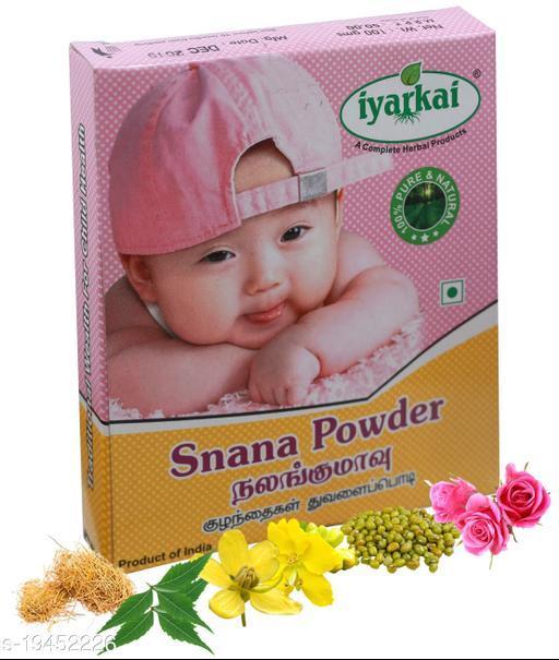 Iyarkai Snana Powder (Nalangu Maavu) 100gm (Babies Scrub Powder)