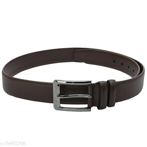 Kastner Mens Causal  Artificial Leather Brown Belts