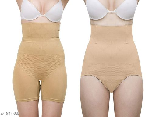 Shapewear Comfy Spandex Ladies Shapewear (Pack Of 2)  *Fabric* Spandex  *Size* Up To 30 in To 38 in (Free Size)  *Type* Stitched  *Description* It Has 2 Pieces Of Shapewears  *Pattern* Solid  *Sizes Available* Free Size *   Catalog Rating: ★3.8 (65)  Catalog Name: Trendy Spandex Ladies Shapewear Vol 2 CatalogID_257258 C76-SC1050 Code: 094-1948885-