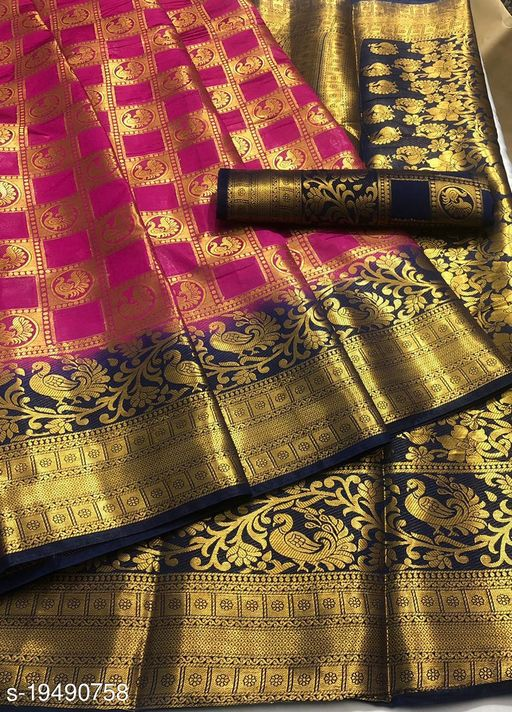 beautiful naylon silk saree
