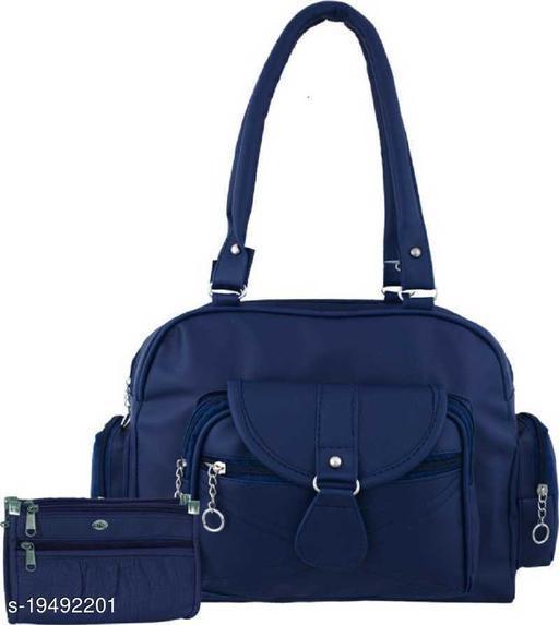 Beautiful Women's Multipack Navy Blue PU Messenger Bags