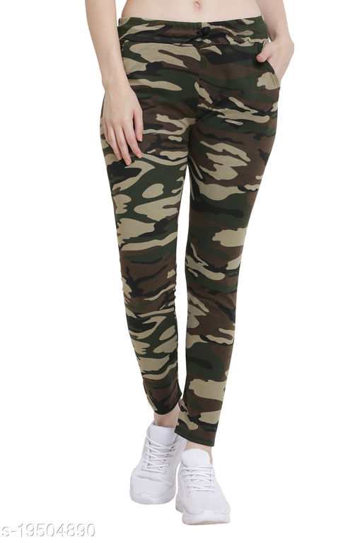 Vesture Forge Stylish Army TrackPant