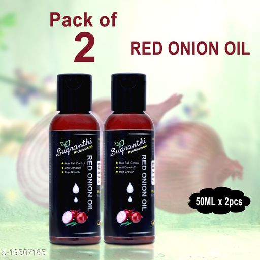 Sugranthi Professional Red Onion Oil 50ML  Pack of 2