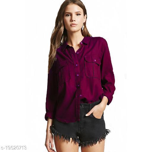 Women Casual Double pocket Shirt