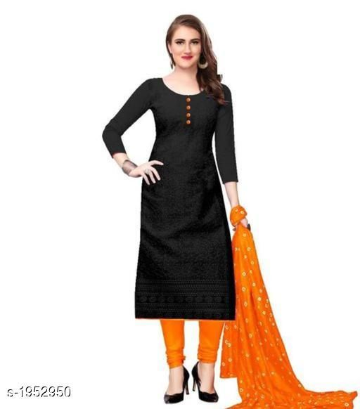 Kurta Sets Voguish Cotton Chikankari Kurtis With Dupatta  *Fabric* Kurti - Cotton , Dupatta - Cotton  *Sleeves* Sleeves Are Included  *Size* Kurti - M - 38 in, L - 40 in, XL - 42 in, XXL - 44 in , Dupatta - 2.25 Mtr  *Length* Up To 48 in  *Type* Stitched  *Description* It Has 1 Piece Of Women's Kurti With Dupatta  *Work* Chikankari Work  *Sizes Available* M, L, XL, XXL, XXXL, 4XL, 5XL, 6XL   Catalog Rating: ★3.8 (641) Supplier Rating: ★3.8 (12458) SKU: 101-ORANGE Shipping charges: Rs49 (Non-refundable) Pkt. Weight Range: 500  Catalog Name: Abhisarika Voguish Cotton Chikankari Kurtis With Dupattas - CROP FASHIONS Code: 803-1952950--
