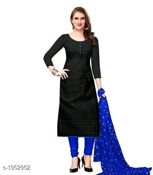 Kurta Sets Voguish Cotton Chikankari Kurtis With Dupatta  *Fabric* Kurti - Cotton , Dupatta - Cotton  *Sleeves* Sleeves Are Included  *Size* Kurti - M - 38 in, L - 40 in, XL - 42 in, XXL - 44 in , Dupatta - 2.25 Mtr  *Length* Up To 48 in  *Type* Stitched  *Description* It Has 1 Piece Of Women's Kurti With Dupatta  *Work* Chikankari Work  *Sizes Available* M, L, XL, XXL, XXXL, 4XL, 5XL, 6XL   Catalog Rating: ★3.8 (641) Supplier Rating: ★3.8 (12458) SKU: 101-ROYALBLUE Shipping charges: Rs49 (Non-refundable) Pkt. Weight Range: 500  Catalog Name: Abhisarika Voguish Cotton Chikankari Kurtis With Dupattas - CROP FASHIONS Code: 803-1952952--