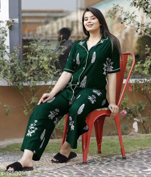 Night wear suit set for beautiful girls and women