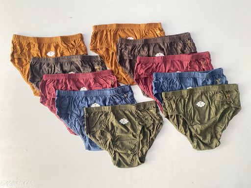 Women Hipster Multicolor Cotton Panty (Pack of 10)