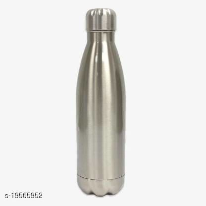 Shuang You 500ML Bottle Stainless Steel(Pack of 1, Silver, Steel)