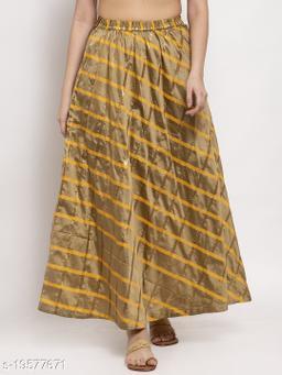 Clora Fawn Printed Maxi Skirt