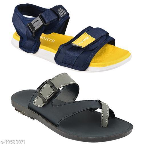 Birde Sandals for Men Combo Pack of 2