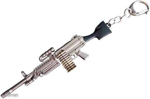 Rashuali PUBG THEME PREMIUM KEY CHAIN M249 Sniper Gun Keychain