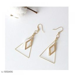 Stylish Women's 18 KG Gold Plated Metal Earring