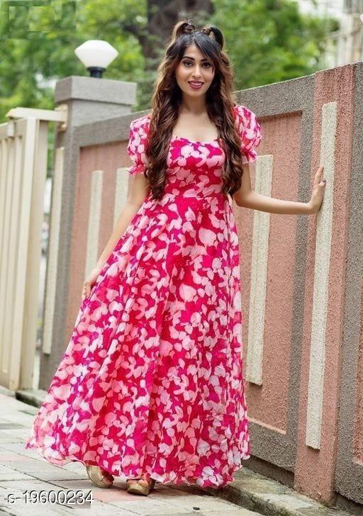 Pretty Partywear Women Gowns