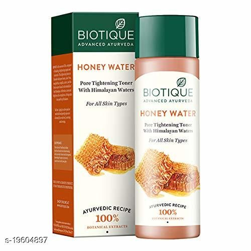 Biotique Honey Water Pore Tightening Toner, 120ml