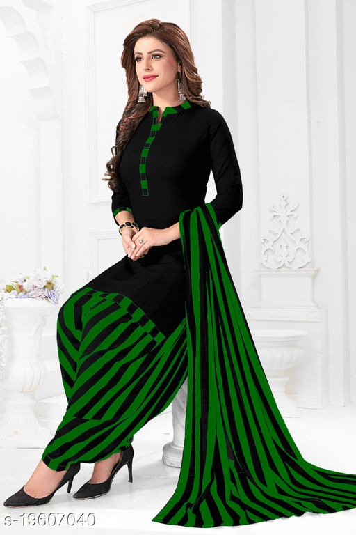 Stylish Women's Suit with Printed Dupatta
