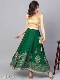 Aagam Pretty Women Ethnic Skirts