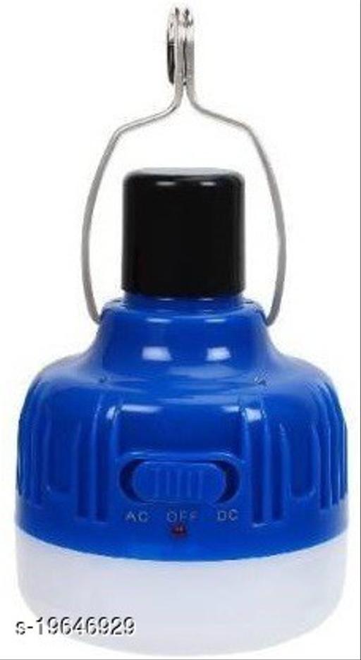 Gallery Hub Onlite Rechargeable Bulb Style Lantern ONLITE Emergency Light  (Blue) - 40 Watt - 5000Mah Battery