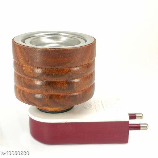 Mini Magic Wooden Electric Kapoor Dani Incense Burner Plug Bakhoor Dani Aroma Diffuser Kapoor Burner