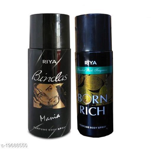 Riya Bindas Mania & Born Rich Deodorant Each 150ml