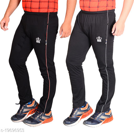 ABD Kingdom Men's Comfortable Track Pants (Pack of 2)