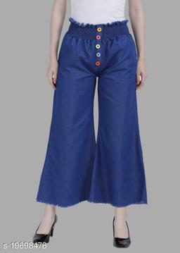 Bell Bottom Stylish Jeans