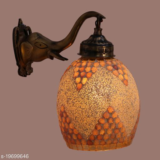 Afast Designer Wall Lamp Light With Hand Decorated Glass Ornaments With Colorfull Chips & Beeds For Magicel & Romantic In Effect-Ew29