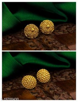 buy one get one  gold plated earing for whomen  i