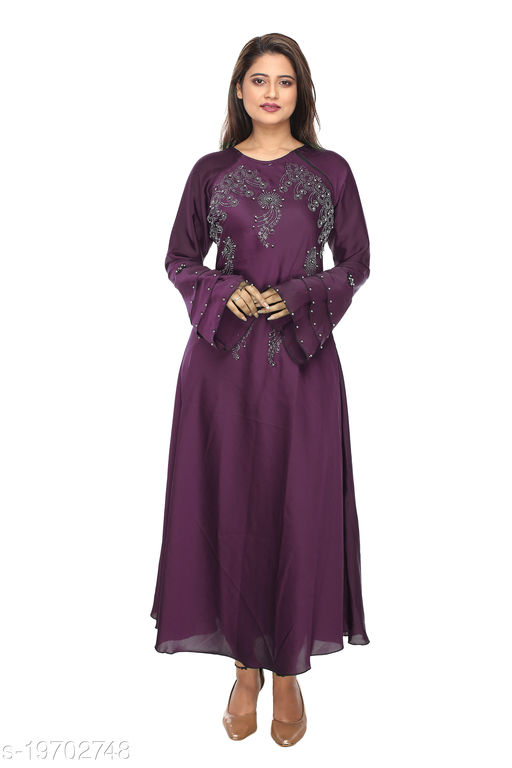 women new stylish abaya for party & casual wear