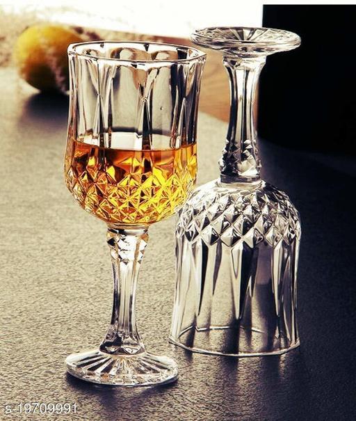 Crystal Wine Glasses PACK OF 2
