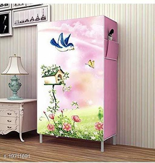 DIVANDIYA 6 Layer Slim Storage Organizer Rack for Kitchen, Bedroom, Bathroom-Pink