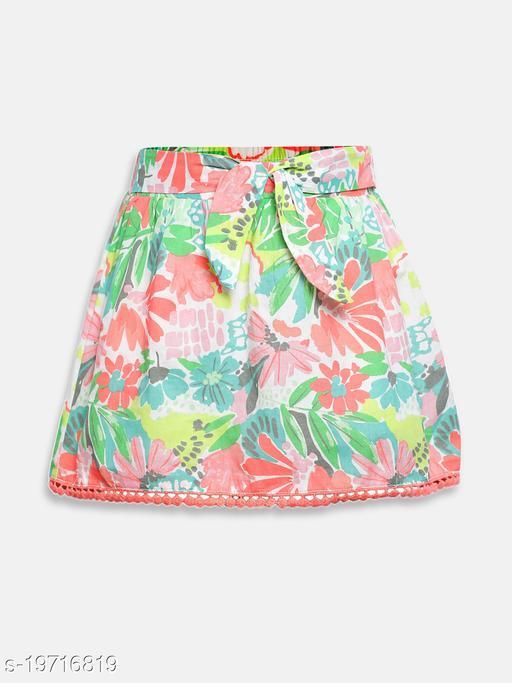 Bloom Paradise Girl's Skirts