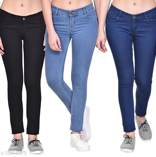 Classy Graceful Women Jeans