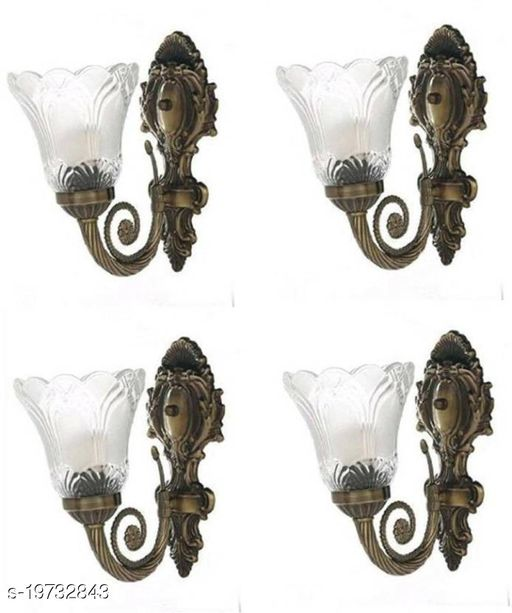 Afast Designer Hand Decoraive Colorful Sconce Glass Wall Lamp Light(Set Of Four) DX018