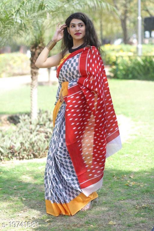 Fancy cotton Mulmul Saree