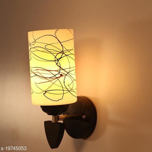 Afast Designer LED Sconce Glass & Wood Wall Lamp/ Light- Re059
