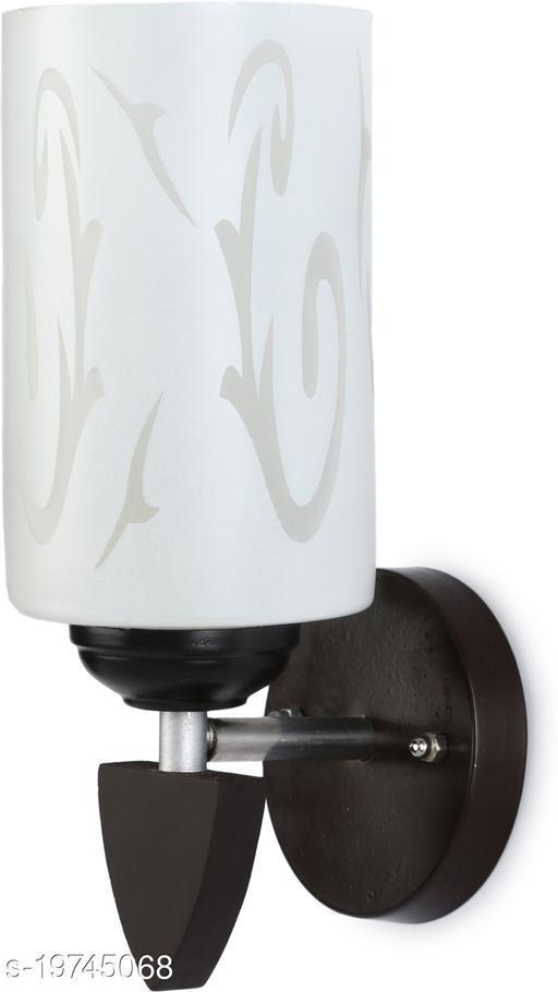 Afast Designer LED Sconce Glass & Wood Wall Lamp/ Light- Re060
