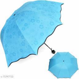 Beautiful Blue Polyester Umbrellas
