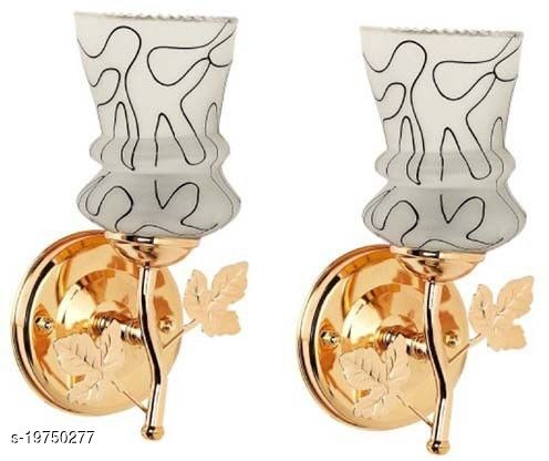 Afast Stylish & Designer Colorful Sconce Glass Wall Lamp Light (Set Of 2 ) ZXX159